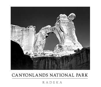 Canyonlands poster - Angel Arch