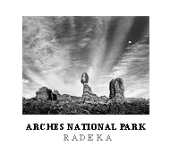 Arches Poster. Arches National Park, Utah