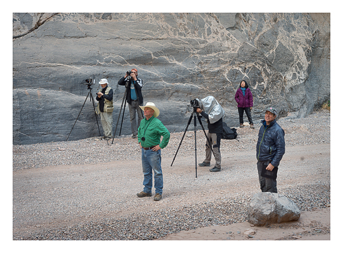 Death Valley workshop group from 2018 Titus Canyon