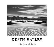 Dunes & Clouds poster. Death Valley National Park, California