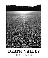 Racetrack, Sunrise poster. Death Valley National Park, California