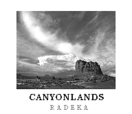 Land Of Standing Rocks poster . Canyonlands National Park, Utah